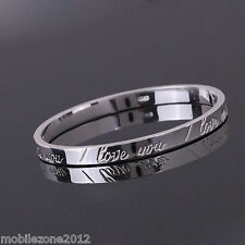 TRENDY BANGLE X-MAS Gift SILVER Women's Jewellery Bangle CUFF & free gift bag ZU