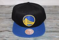 Golden State Warriors M&N Cation NBA Snapback Cap Hat Flat Bill Brim Adjustable