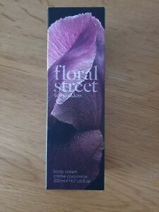 New Boxed Floral Street Iris Goddess Body Cream 200ml Free Delivery