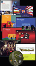 2004 Portugal, Azores, Madeira Complete Year MNH. 17 Souvenir Sheets, Blocks.