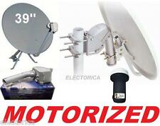 39 in ROTARY SATELLITE DISH PACKAGE + SG2100 MOTOR + FTA FREE TO AIR LNB 36