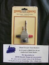 MTH Standard Gauge RealTrax Lighted Track Lock On Lionel Corporation # 11-99004