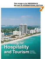 Marketing for Hospitality and Tourism by Philip R Kotler (Int' Ed Paperback)