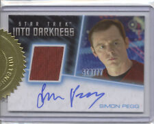 BENEDICT SIMON PEGG STAR TREK MOVIES 2014 RITTENHOUSE INTO DARKNESS AUTOGRAPH 01