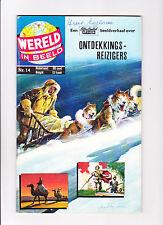 """Wereld In Beeld  Nr.14  :1960's:   : """"Great Explorers!"""" :   : Dutch Copy! :"""