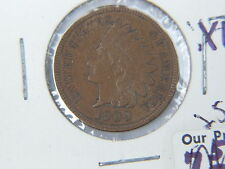 1909 US INDIAN HEAD PENNY 1c COIN XF $.01