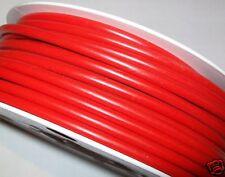 4 métres de gaine rouge motobecane peugeot velo solex mobylette vtt vtc neuve