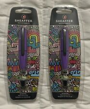 2 Packs of Sheaffer Ion Gel Ink Pen - E1924851S Detachable Cap With Ring Sealed