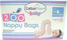 Disposable Hygenic Nappy Bags - 200 Count