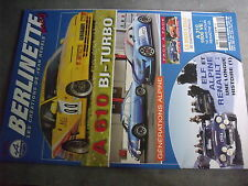 µ? Revue Berlinette mag n°72 A610 Bi-Turbo Generation Alpine Elf & Alpine
