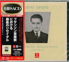 DINU LIPATTI-FAREWELL RECITAL IN BESANCON-JAPAN SACD Hybrid G50