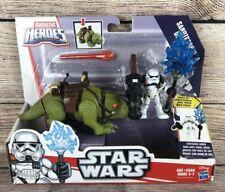 Sandtrooper & Dewback - Sealed Figure Set - Galactic Heroes Star Wars Disney NEW