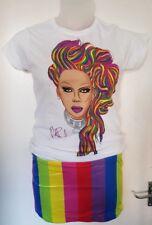 Rupaul Tshirt Top Skirt Drag Race Gay T-Shirt LGBT Pride Rainbow Pride Primark