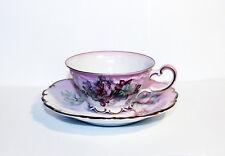 Vintage Imperial Germany Tea Cup, Floral Tea Cup, De Bec Hand Painted Tea Cup