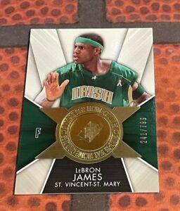 2014-15 SPx Finite Legends #FJA LeBron James /799 SP IRISH - St. Mary
