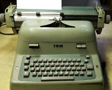 Vintage IBM Electric Typewriter Model 11C with cover.