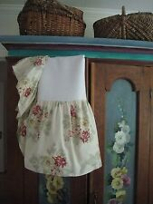 Vintage Guess French Country Dual King Floral W/ Split Corners Bedskirt #49