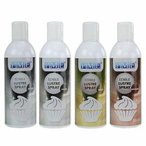 PME Edible Lustre Spray Paint 400ml Food Fondant Icing Colour Cake Decoration