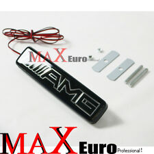 Front Grille AMG Badge Emblem LED Light for Benz CLK CLS SLK C E S CL SL C63 C43