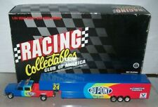 JEFF GORDON #24 DUPONT 1995 1/64 ACTION RCCA DIECAST DUALLY & TRAILER 2508 MADE