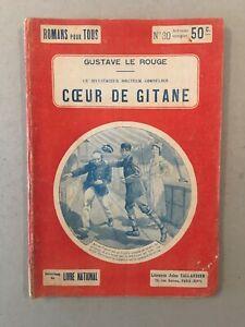 Gustave Le Rouge - Cornelius : Cœur de Gitane (1919) - BE