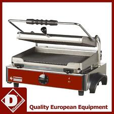 Diamond GR-PANOS Electric Panini Grill with Ribbed Plates