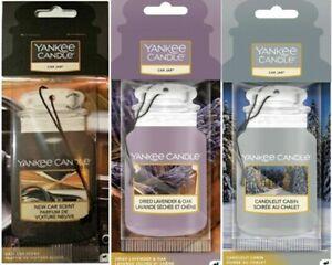 Yankee Candle Car Jar Air Freshener -Winter Car 3 Pack -Brand new 2021 Scents