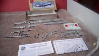 VICKERS VANGUARD 1/144 SCALE MODEL KIT UN-BUILT SPARES OR REPAIR MISSING WHEEL