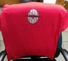 2002 Marvel Aaa red Spider-Man Crew on front t-shirt Xl Short sleeves