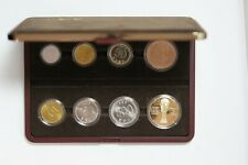 South Korea mixed date 7-coin set with 2002 World Cup medallion (3351663/D2)