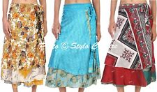Womens Wrap Skirts Sarong Wraparound Dress Magic Beach Dress Wholesale Lot 3 Pc