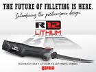 Rapala R12 Heavy-Duty Lithium Fillet-Knife Combo New
