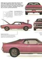 1971 Javelin AMX Article - Must See !!