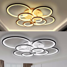 150W Acrylic LED Ceiling Light Chandelier Bedroom Fixture Lamp w/Remote Control