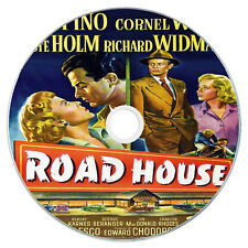 Road House 1948 - Ida Lupino, Cornel Wilde - Action, Drama, Film-Noir DVD