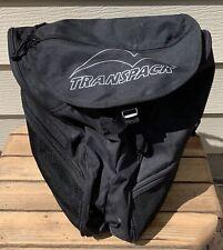 Transpack Ski Boot Bag - All Black