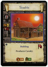 Stable (4) - Age Of Empires ECG CCG Card (C96)