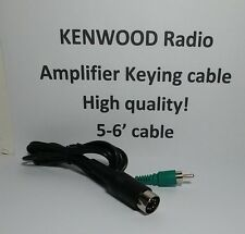 Kenwood HF Amplifier Keying Cable for TS-2000 TS-590 TS-570, etc 7 Pin Din