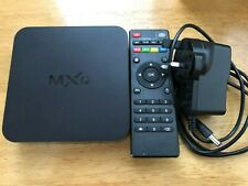 MXQ Android TV Box with Remote Control Good Condition