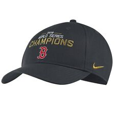 NIKE BOSTON RED SOX 2018 WORLD SERIES CHAMPIONS Adjustable Snapback Cap Hat $30