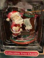 Trim A Home Santa. Christmas Tree Ornament