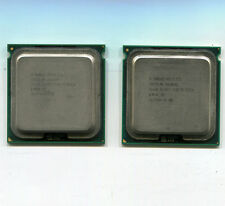 Matched Pair of  Intel Xeon 5160 3.0 GHz 771 dual core CPUs SL9RT 4M/1333