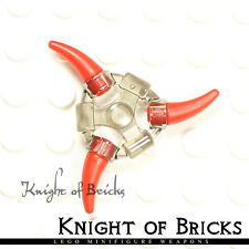 Lego Minifigure TRANS BLACK Super Heroes Weapon Holder Ring 2 Ninjago Aeroblade