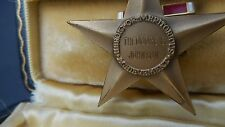 WW2 US Bronze Star Named Medal Decoration Set Theodore L. Jhonson