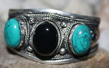 Tibet bracelet Nepal bracelet Turquoise lapis Cuff Bracelet Tibetan Bracelet 2