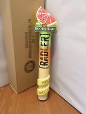"""Rare NIB Moosehead Radler Beer & Juice 12"""" Draft Beer Keg Tap Handle"""