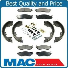 Ceramic Heavy Duty Pads With Parking Brakes Springs For 06-08 Ram 2500 Pick Up