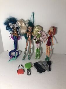 MONSTER HIGH LOT CLEOPATRA TORALEI BATSY CLARO MERMAID Accessories FUN!
