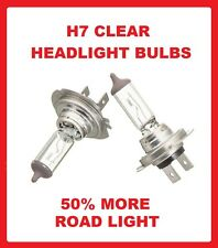 Peugeot 206 Twin headlamp Headlight Bulbs 1998 Onwards (Dipped Beam) H7 / 499 /