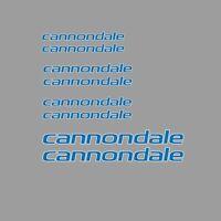 CANNONDALE Cuadro de Bicicleta Adhesivos-DECALS-Transfers: azul. N.14